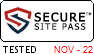 Secure Site pass helps to protect your personal information from hackers and fraud.